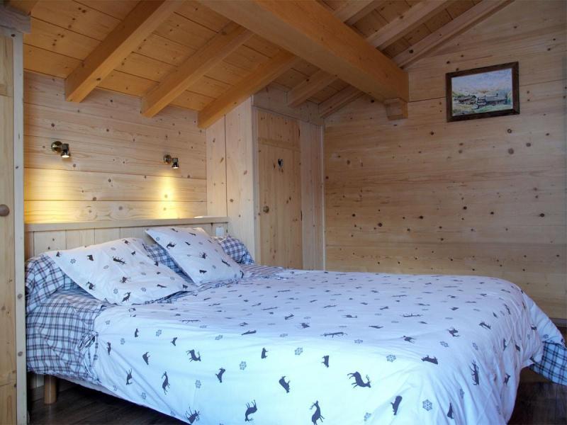 Vacaciones en montaña Chalet 6 piezas para 12 personas - Chalet Perle des Neiges - Le Grand Bornand - Cama doble