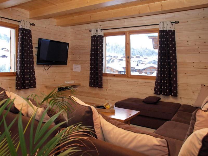 Vacaciones en montaña Chalet 6 piezas para 12 personas - Chalet Perle des Neiges - Le Grand Bornand - Estancia