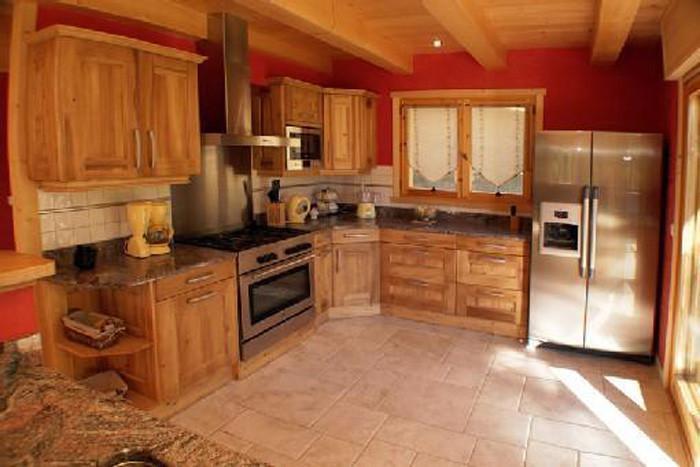 Vacaciones en montaña Chalet 6 piezas para 12 personas - Chalet Perle des Neiges - Le Grand Bornand - Kitchenette