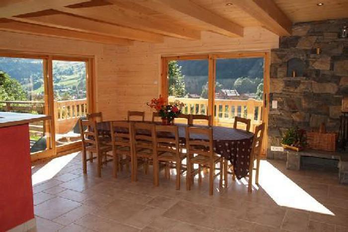 Vacaciones en montaña Chalet 6 piezas para 12 personas - Chalet Perle des Neiges - Le Grand Bornand - Mesa