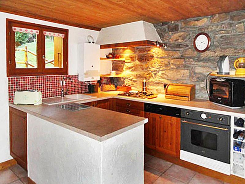 Vakantie in de bergen Chalet Peudral - La Plagne - Keuken
