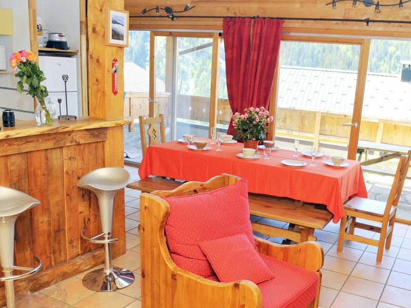 Vacances en montagne Chalet Piccola Pietra - Peisey-Vallandry - Salle à manger