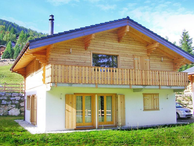 Vacances en montagne Chalet Pierina - La Tzoumaz - Extérieur été