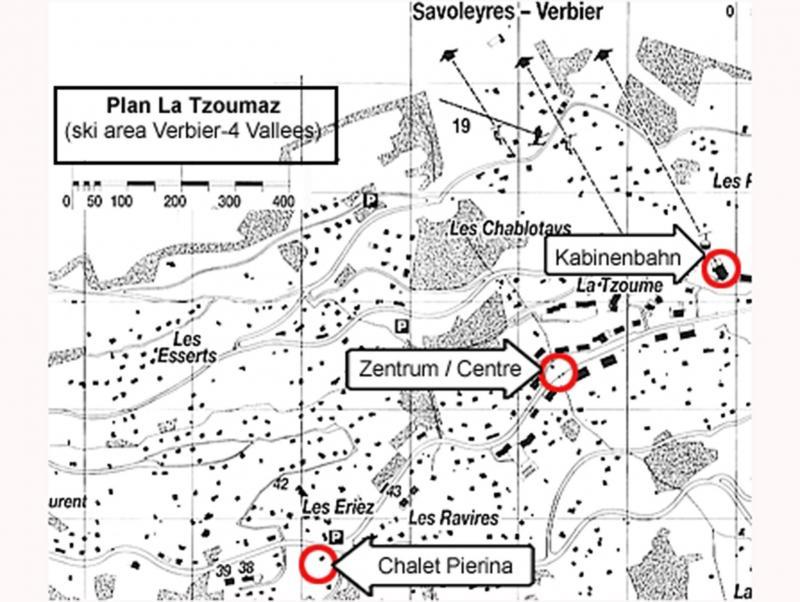 Vacances en montagne Chalet Pierina - La Tzoumaz - Plan