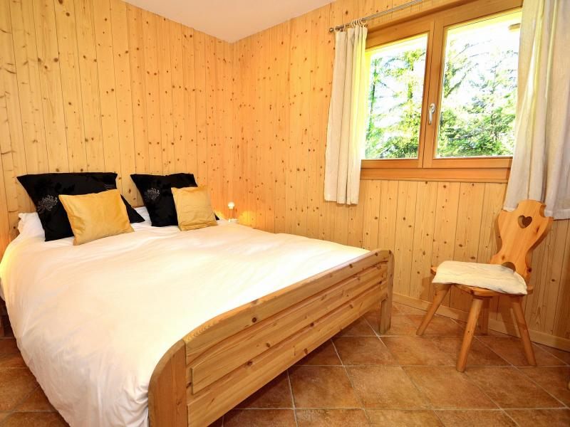 Holiday in mountain resort Chalet Pierina - La Tzoumaz - Bedroom