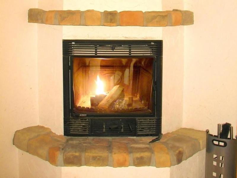 Holiday in mountain resort Chalet Pierina - La Tzoumaz - Fireplace