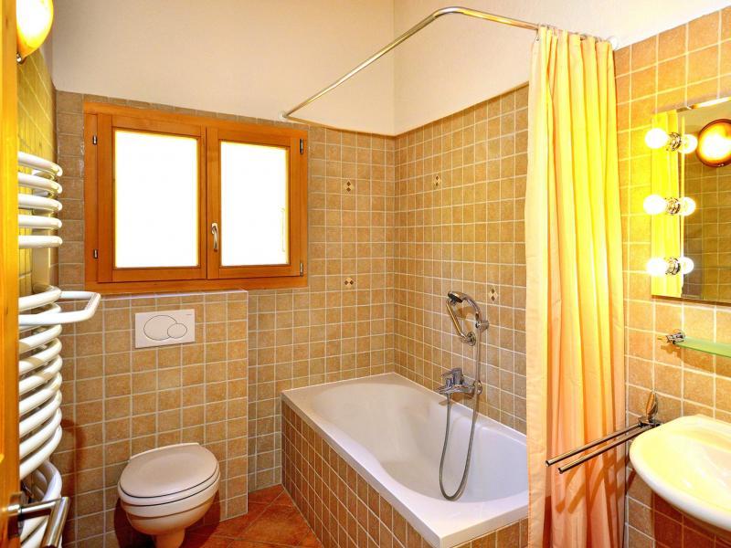 Vacances en montagne Chalet Pierina - La Tzoumaz - Salle de bains