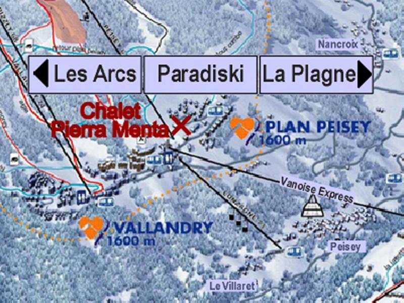 Vacances en montagne Chalet Pierra Menta - Peisey-Vallandry - Plan