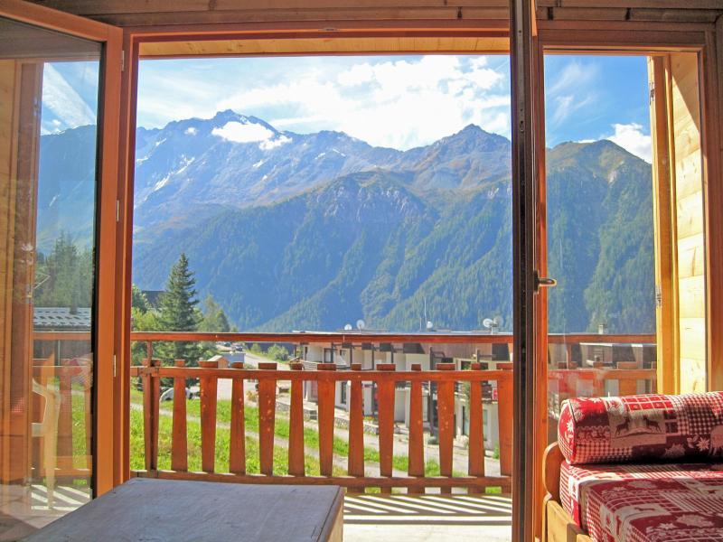 Vacances en montagne Chalet Pierra Menta - Peisey-Vallandry - Extérieur été