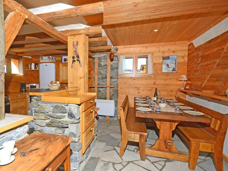 Vacances en montagne Chalet Pierra Menta - Peisey-Vallandry - Salle à manger