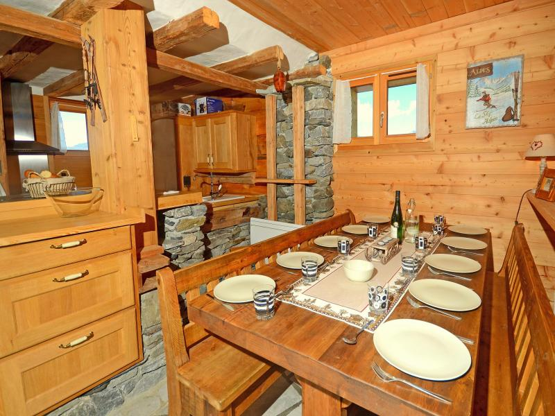 Vacances en montagne Chalet Pierra Menta - Peisey-Vallandry - Table