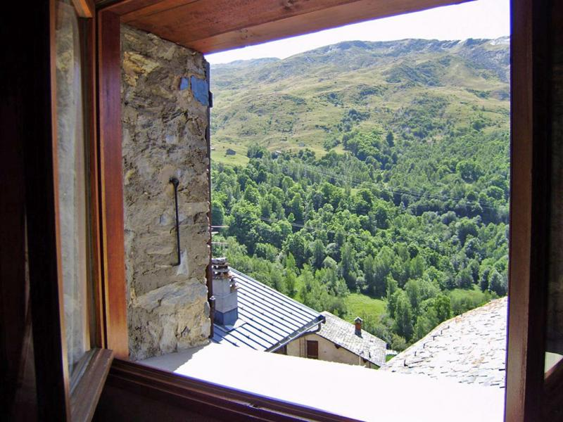 Vacances en montagne Chalet Praranger - Les Menuires - Extérieur été