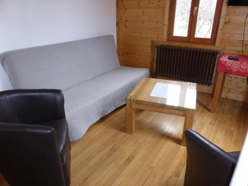 Urlaub in den Bergen 5 Zimmer Chalet für 10 Personen (PYLONE) - Chalet Pylone - Saint Gervais - Wohnzimmer