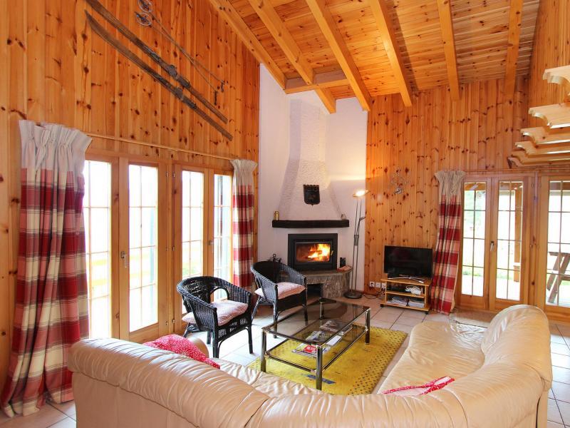 Vacanze in montagna Chalet Quatre Vallées - La Tzoumaz - Soggiorno