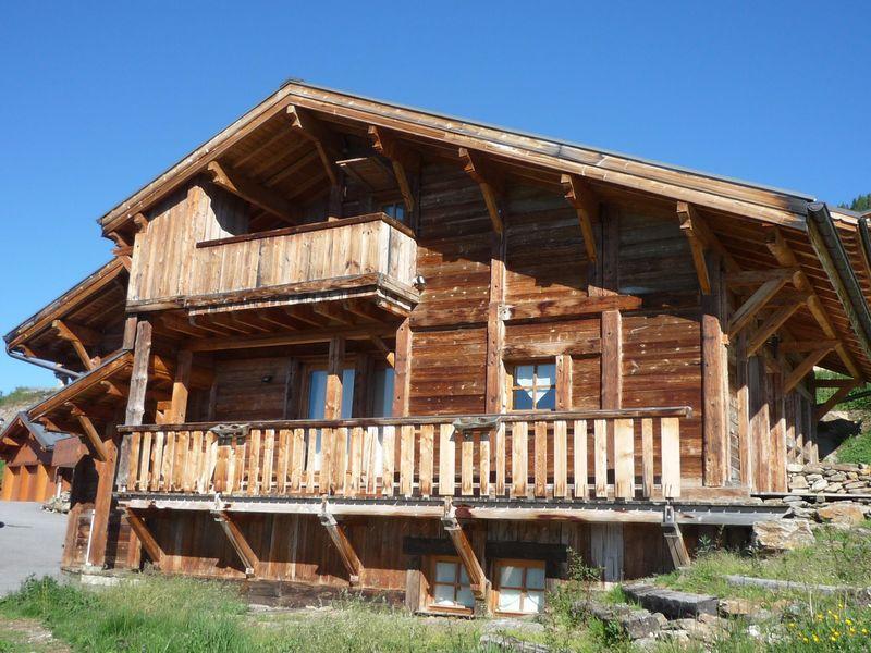 Vacaciones en montaña Chalet Roc du Vent - Les Saisies - Verano