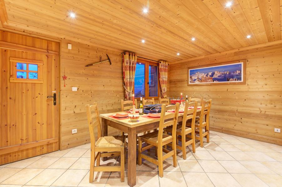 Holiday in mountain resort Chalet Rosa Villosa - Champagny-en-Vanoise - Dining area
