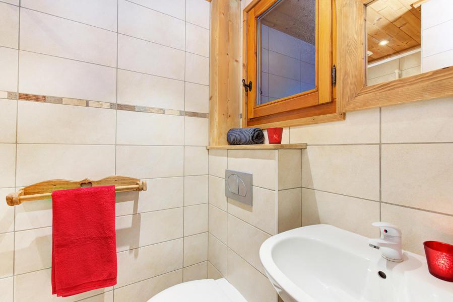 Holiday in mountain resort Chalet Rosa Villosa - Champagny-en-Vanoise - Wash-hand basin