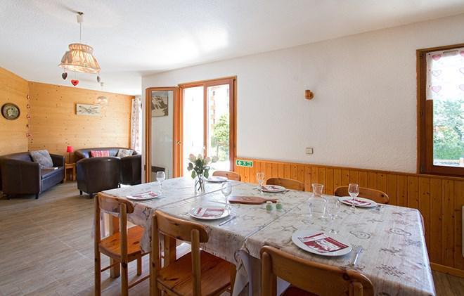 Vacances en montagne Chalet Sabot de Vénus - Les 2 Alpes - Salle à manger