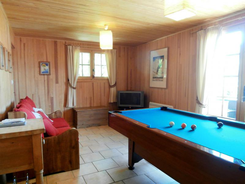 Holiday in mountain resort 6 room chalet 12 people (2) - Chalet Saint Gervais - Saint Gervais - Pool