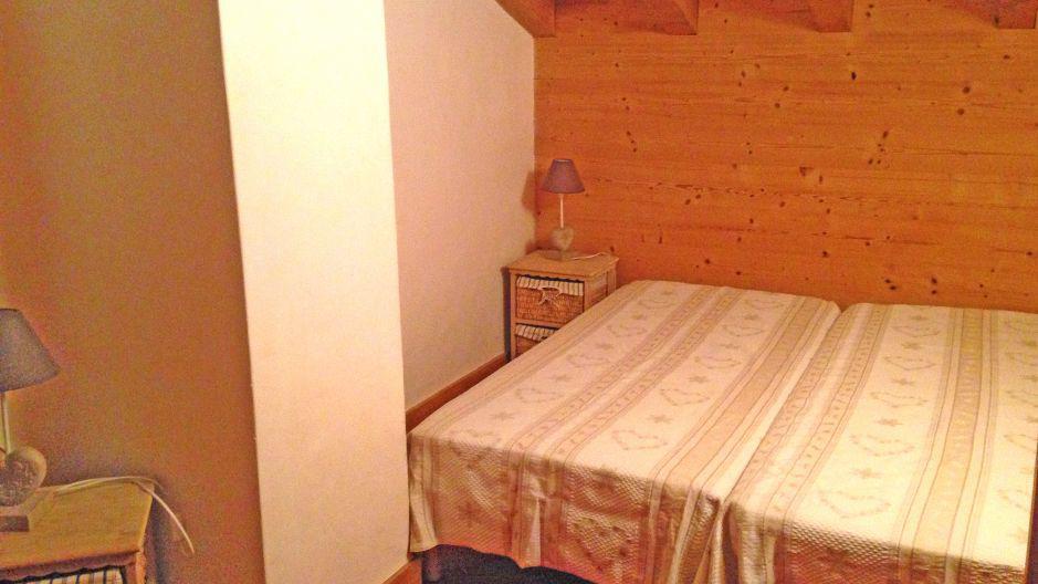 Holiday in mountain resort Chalet Saint Marc - Saint Martin de Belleville - Bedroom