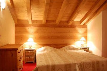 Urlaub in den Bergen Chalet Saint Marc - Saint Martin de Belleville - Doppelbett