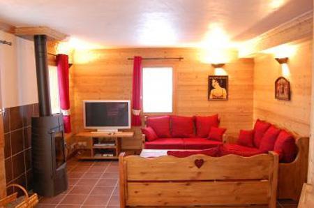 Holiday in mountain resort Chalet Saint Marc - Saint Martin de Belleville - Stove