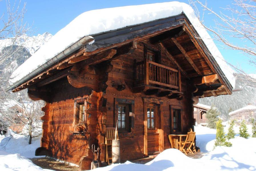 Location au ski Chalet Sepia - Chamonix - Extérieur été