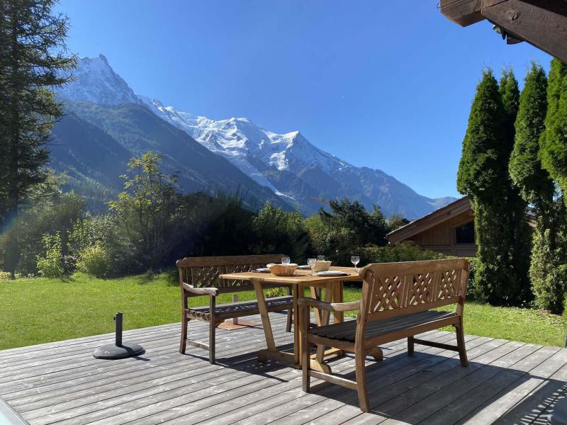 Location au ski Chalet 5 pièces 6 personnes - Chalet Sérac - Chamonix - Extérieur été