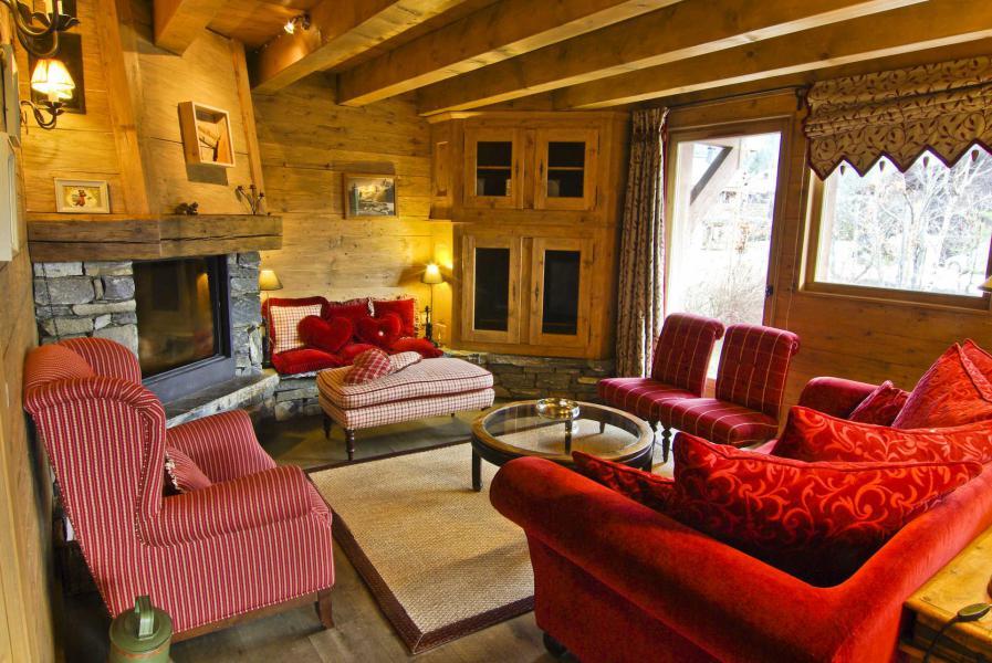 Vacances en montagne Chalet 4 pièces 6 personnes - Chalet Sérac - Chamonix - Séjour