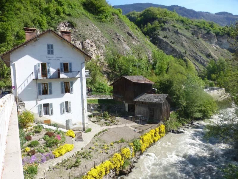 Каникулы в горах Chalet Simond - Brides Les Bains - летом под открытым небом