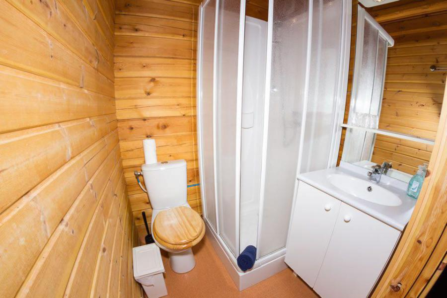 Holiday in mountain resort Semi-detached 8 room chalet 13 people - Chalet Simone - La Tania - Shower room