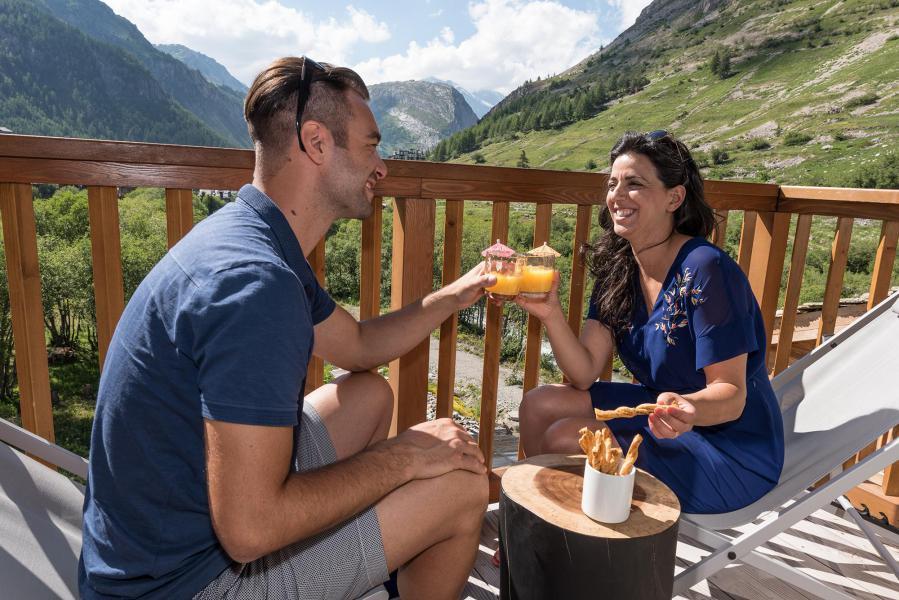 Vakantie in de bergen Chalet Skadi - Val d'Isère - Balkon