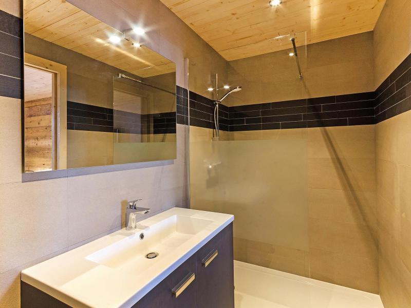 Vacaciones en montaña Chalet Ski Dream - Montchavin La Plagne - Cuarto de baño con ducha