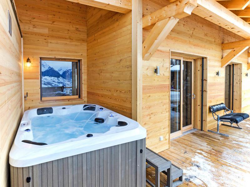 Vacaciones en montaña Chalet Ski Dream - Montchavin La Plagne - Jacuzzi