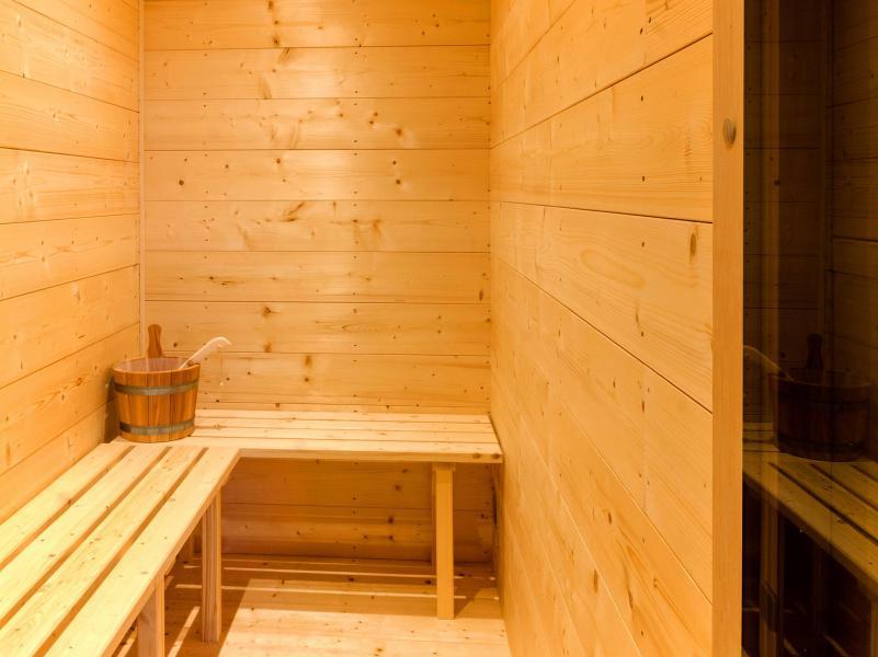 Vacaciones en montaña Chalet Ski Dream - Montchavin La Plagne - Sauna