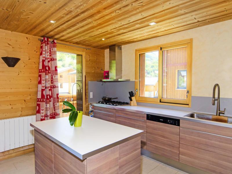 Urlaub in den Bergen Chalet Ski Royal - Les Menuires - Küche