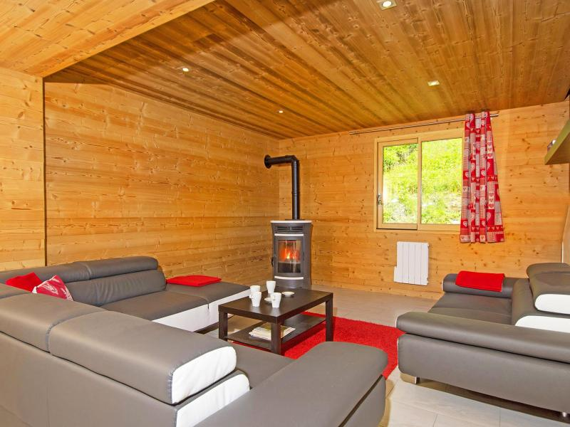 Holiday in mountain resort Chalet Ski Royal - Les Menuires - Living room