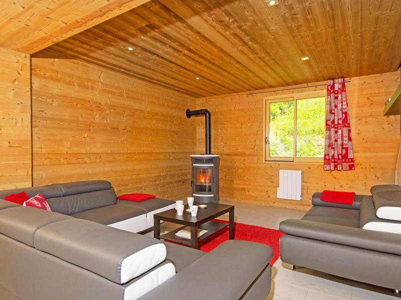 Urlaub in den Bergen Chalet Ski Royal - Les Menuires - Wohnzimmer