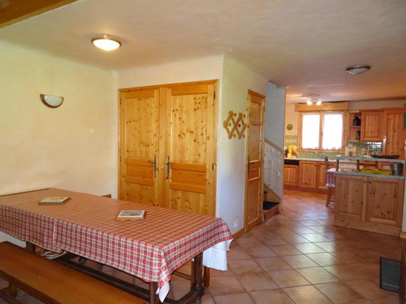Wakacje w górach Apartament triplex 6 pokojowy 12 osób - Chalet Soldanelles - Champagny-en-Vanoise - Jadalnia