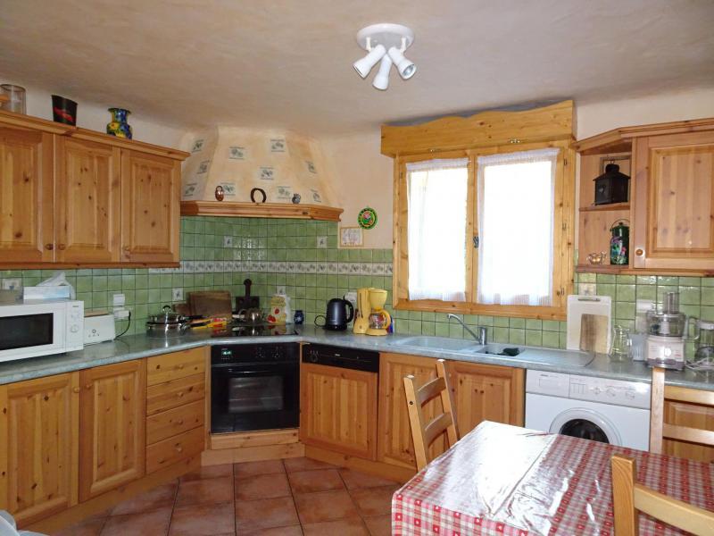 Wakacje w górach Apartament triplex 6 pokojowy 12 osób - Chalet Soldanelles - Champagny-en-Vanoise - Kuchnia