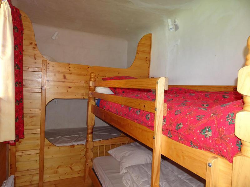 Wakacje w górach Apartament triplex 6 pokojowy 12 osób - Chalet Soldanelles - Champagny-en-Vanoise - Łóżkami piętrowymi