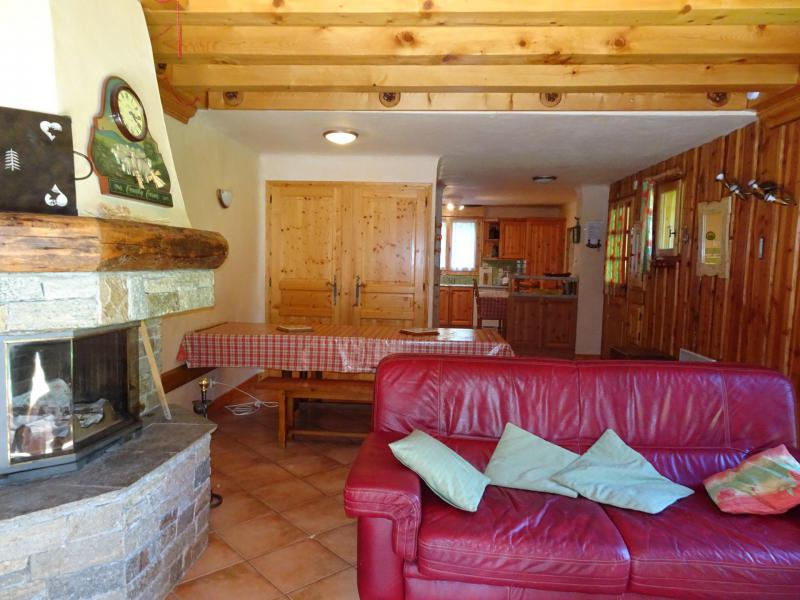 Wakacje w górach Apartament triplex 6 pokojowy 12 osób - Chalet Soldanelles - Champagny-en-Vanoise - Pokój gościnny