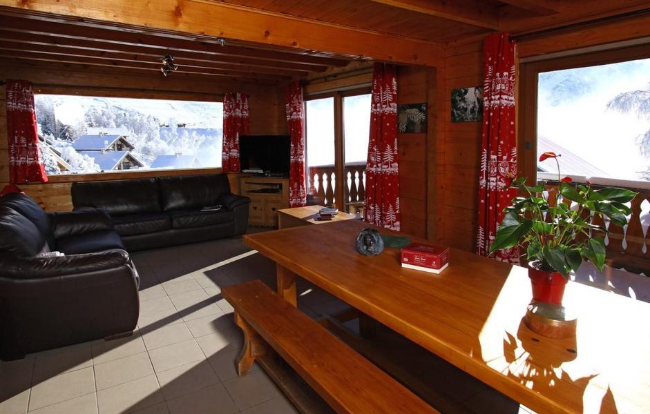 Vacances en montagne Chalet Soleil Levant - Les 2 Alpes - Table
