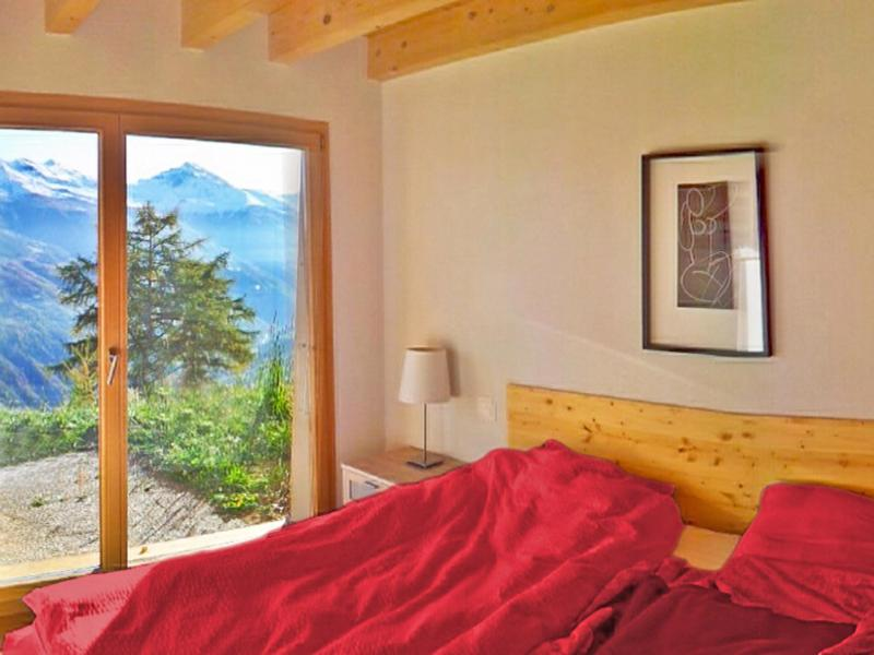 Holiday in mountain resort Chalet Sur Piste - Thyon - Bedroom