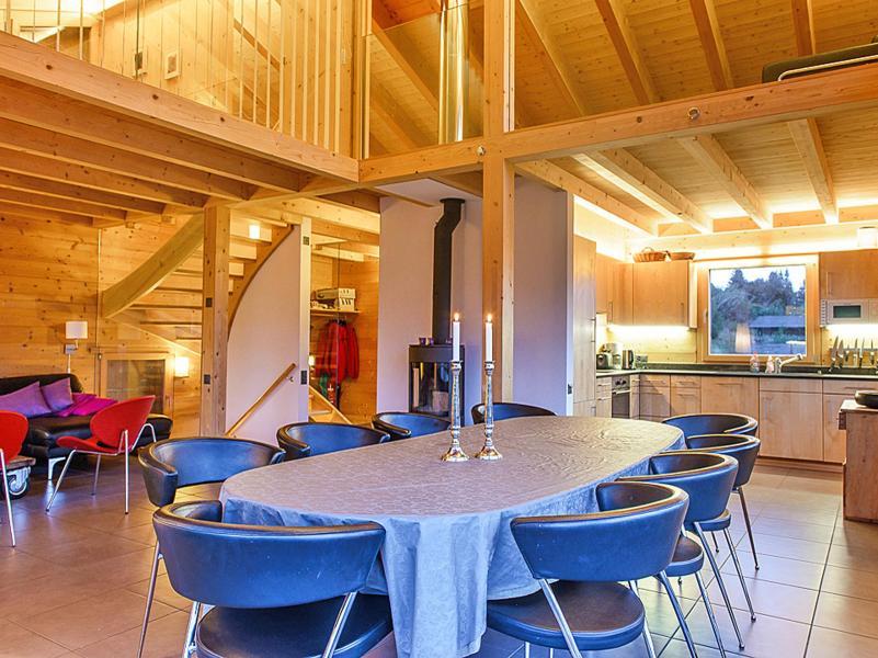 Vacanze in montagna Chalet Sur Piste - Thyon - Sala da pranzo