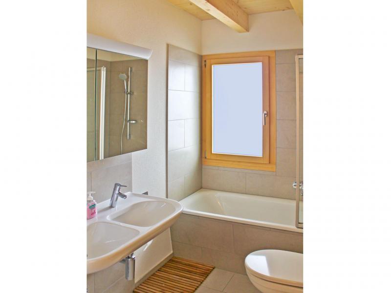 Vacances en montagne Chalet Sur Piste - Thyon - Salle de bains
