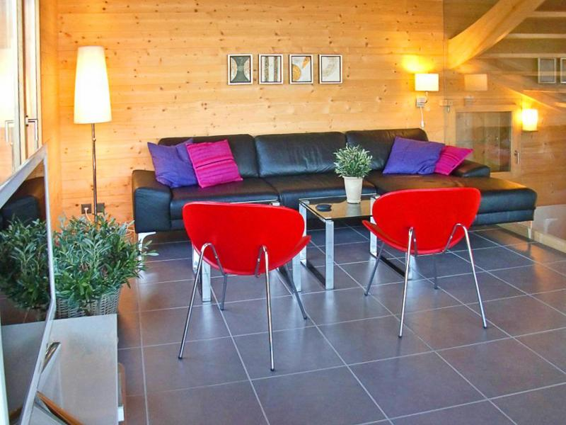 Holiday in mountain resort Chalet Sur Piste - Thyon - Settee
