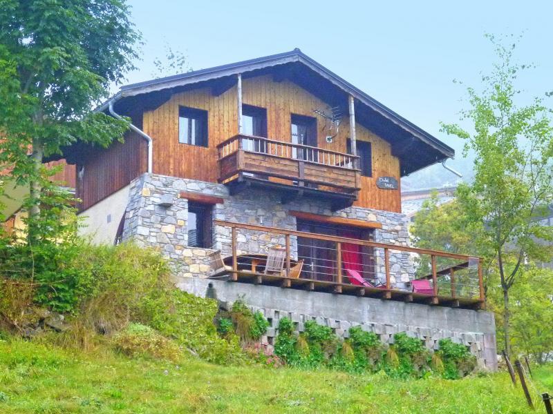 Holiday in mountain resort Chalet Tavel - Champagny-en-Vanoise - Summer outside