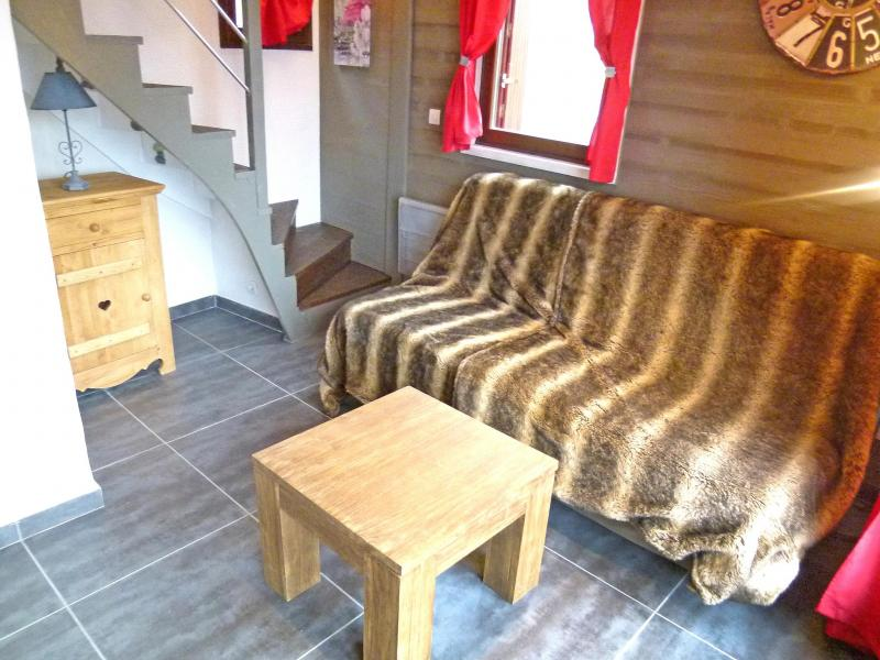 Holiday in mountain resort Chalet Tavel - Champagny-en-Vanoise - Living room