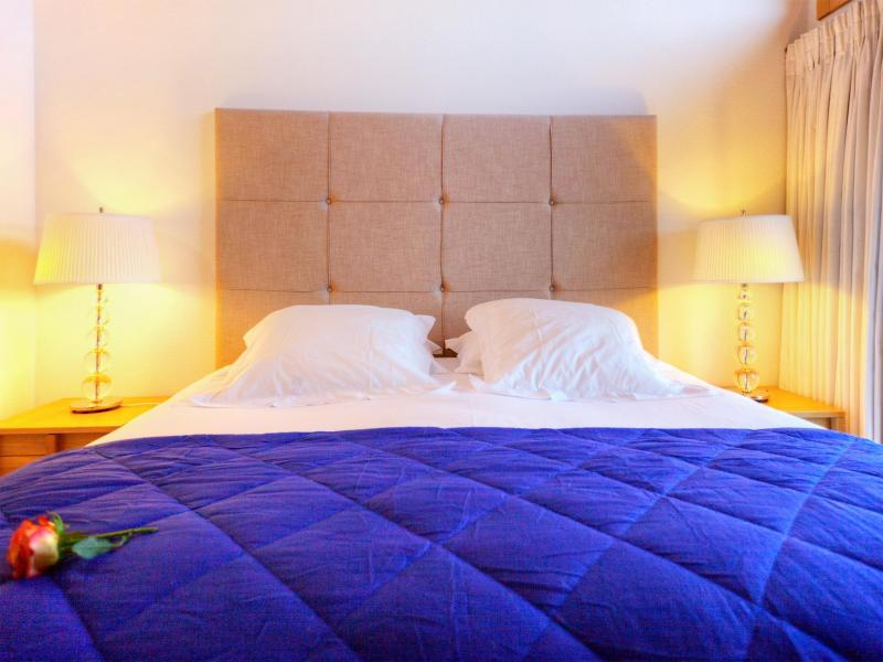 Holiday in mountain resort Chalet Teychenne - Thyon - Double bed